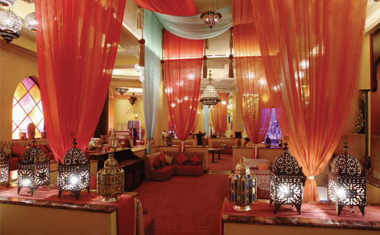 Mazagan morocco for Indian restaurant interior design ideas